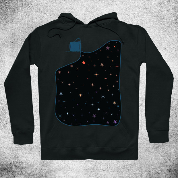Painting with stars Hoodie