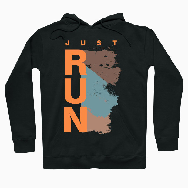Authentic Just Run Hoodie