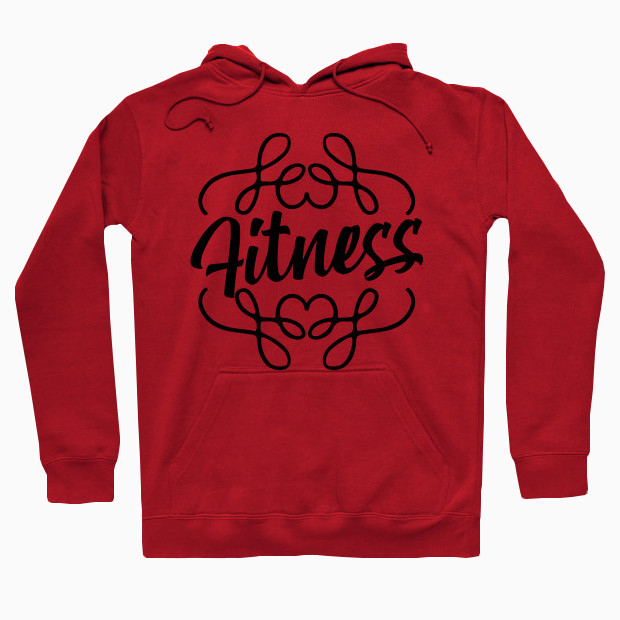 Exotic Fitness Calligraphy Hoodie