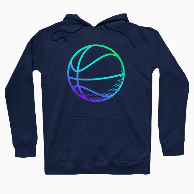 RGB basketball Hoodie