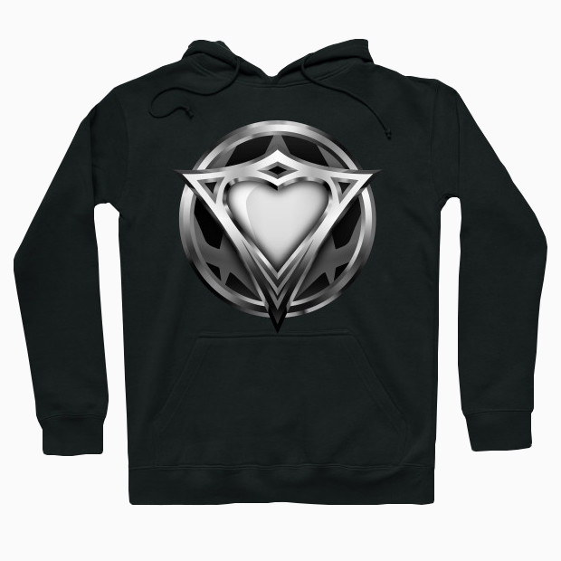 The heart of steel Hoodie