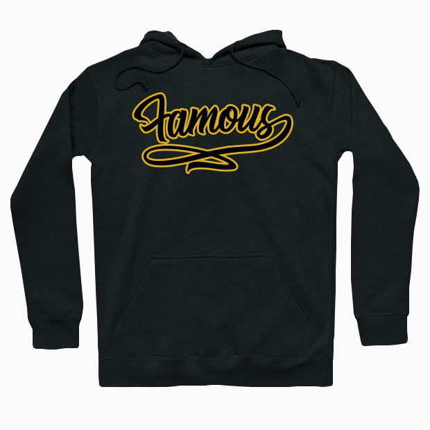 Famous gold Hoodie