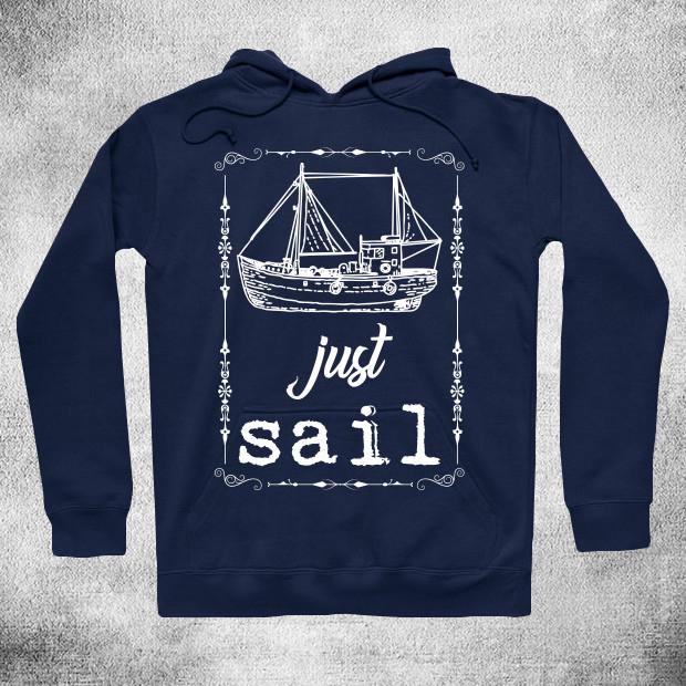 Just sail Hoodie