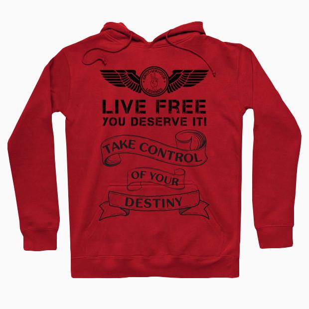 Live free Hoodie