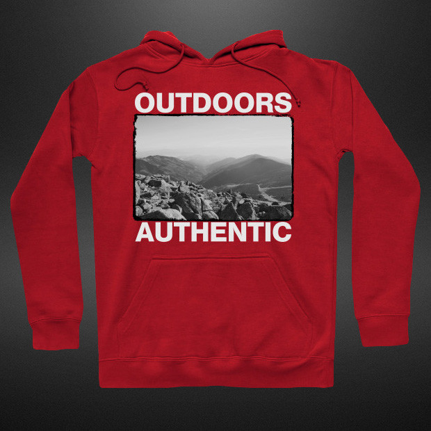 Outdoors authentic streetwear Hoodie