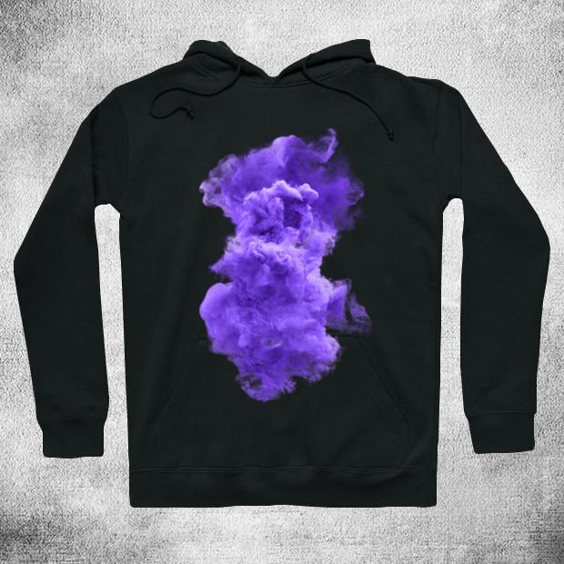 Purple cloud Hoodie