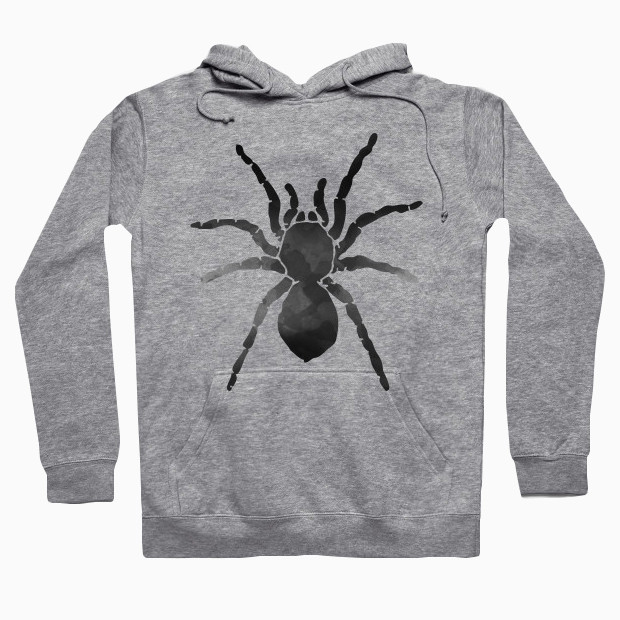Watercolor spider Hoodie