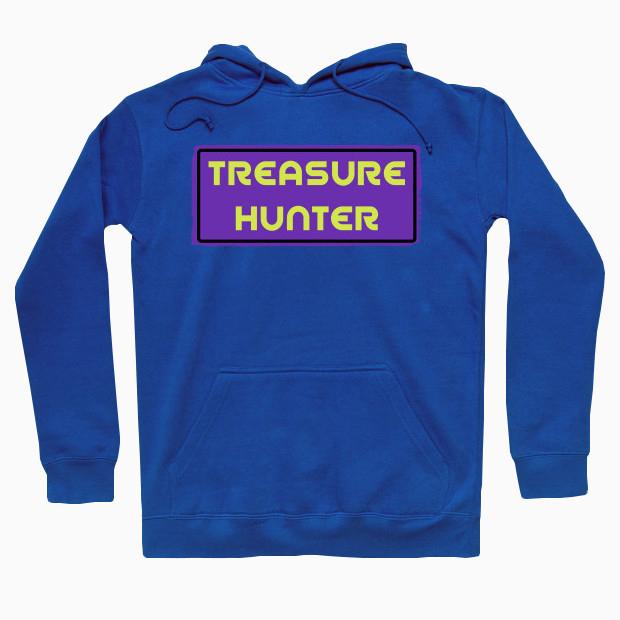 Pink treasure hunter Hoodie