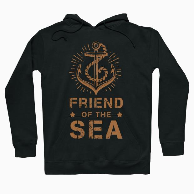 Friend of the sea vintage Hoodie