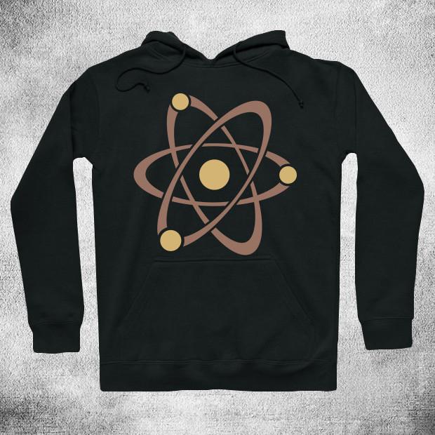 Vintage atom Hoodie