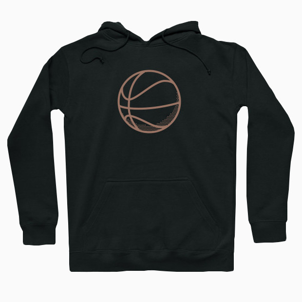 Vintage basketball Hoodie