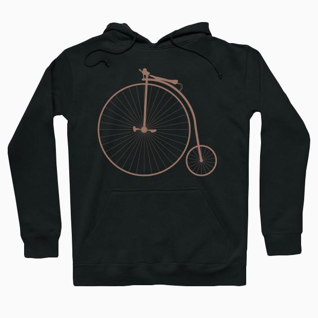 Vintage bicycle Hoodie