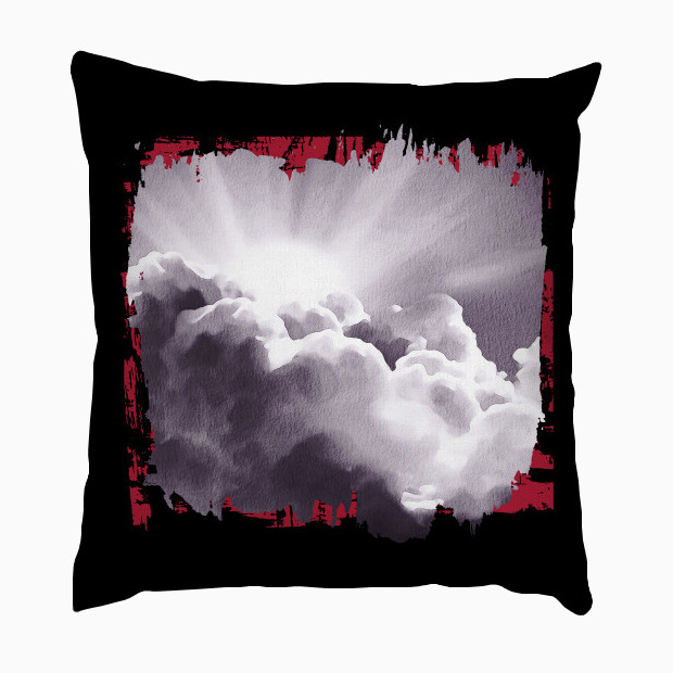 Clouds painting Pillow