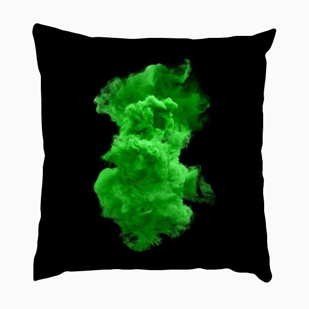 Green cloud Pillow