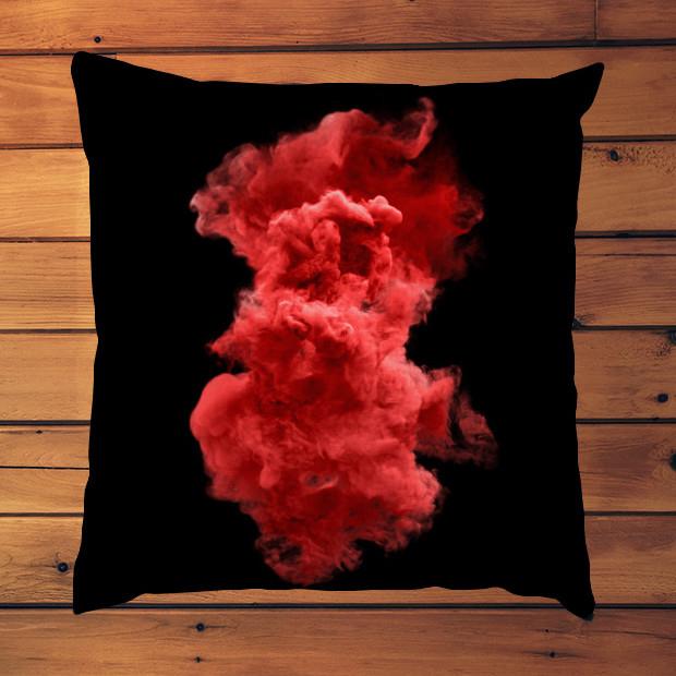 Red cloud Pillow