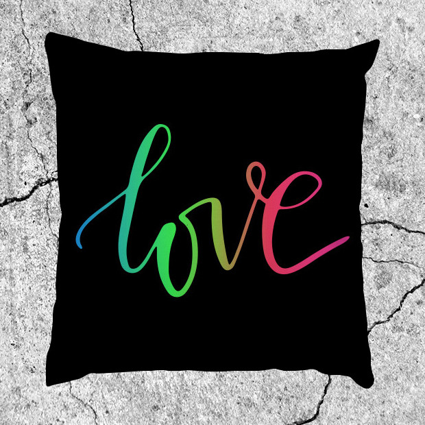 Love RGB Pillow