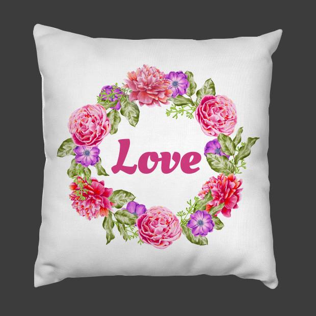 Love flowers Pillow