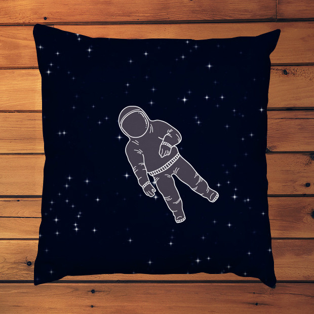 Astronaut in space Pillow
