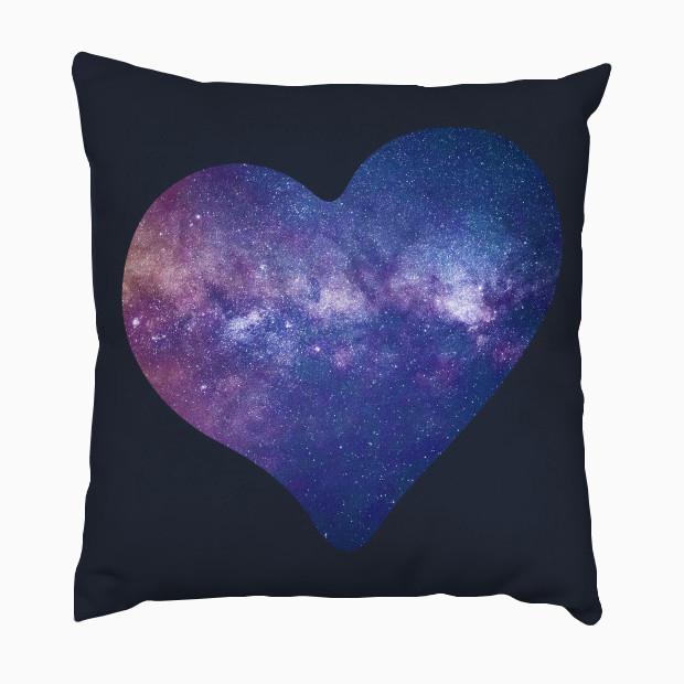 Galaxy heart Pillow
