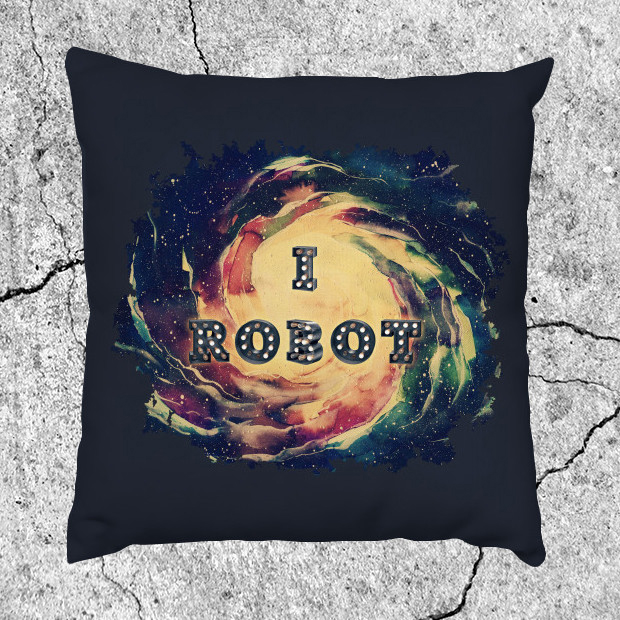 I Robot galaxy Pillow