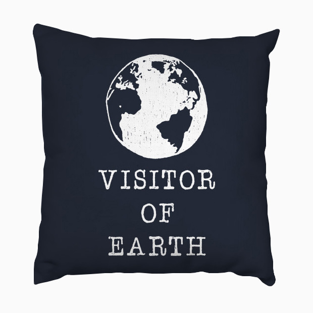 Visitor of Earth Pillow