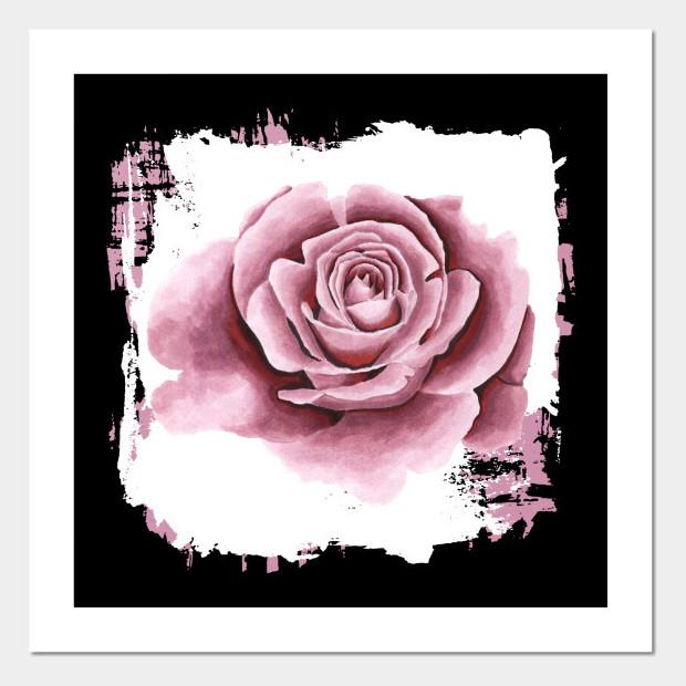 Artsy flower Poster