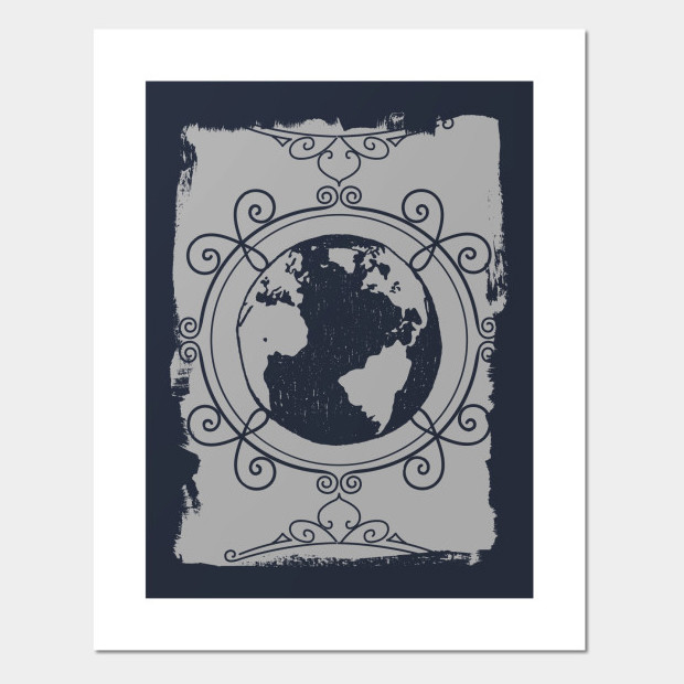 Artsy planet Poster