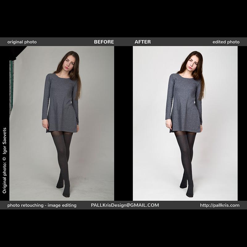 Fashion Girl retouching