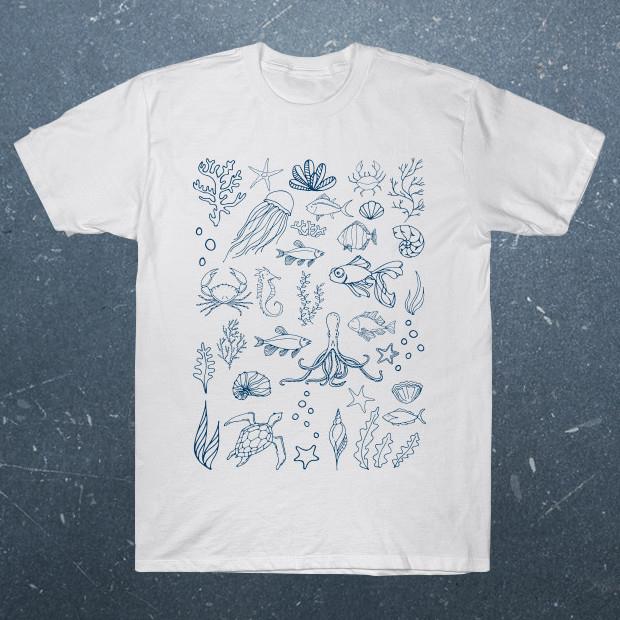Aquatic animals T-Shirt
