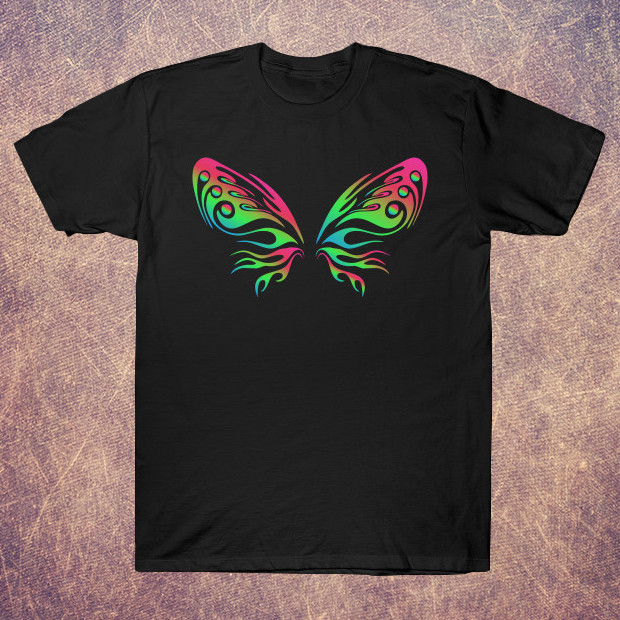 Colourful butterfly T-Shirt