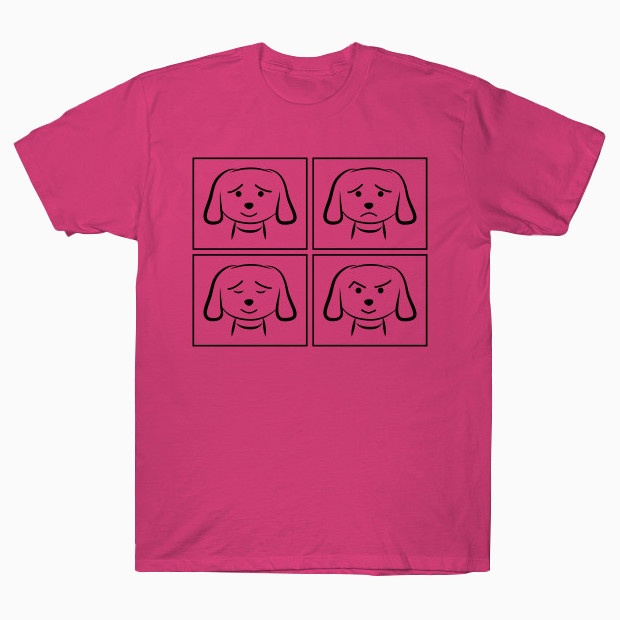 Dog facial expressions T-Shirt