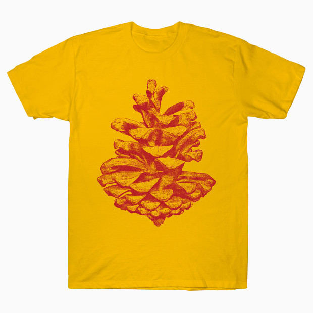 Artsy pine cone drawing T-Shirt