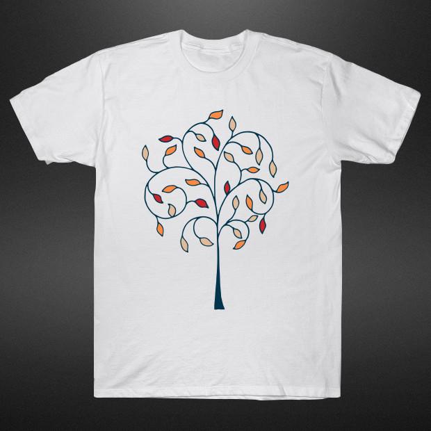 Artsy tree drawing T-Shirt