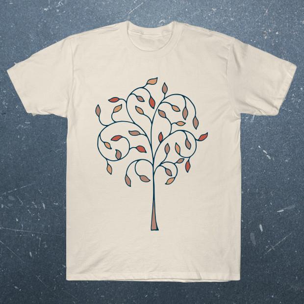 Artsy tree streetwear T-Shirt
