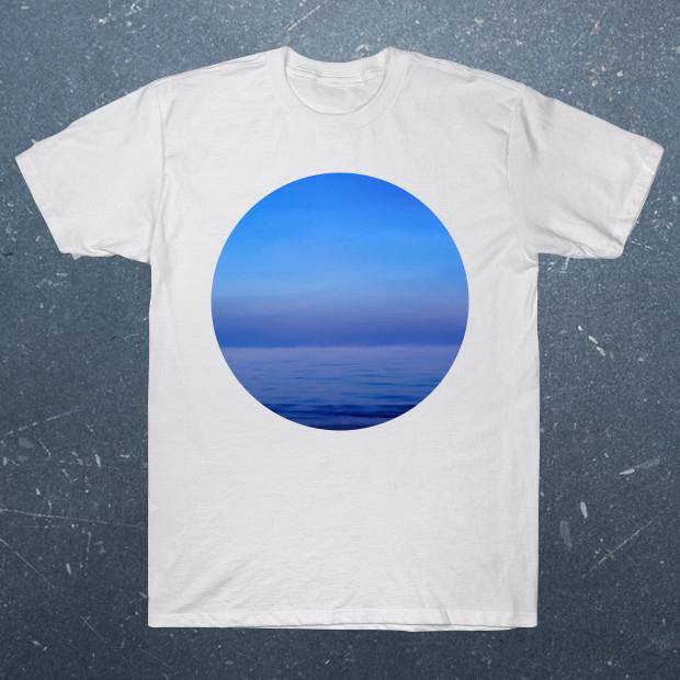 Sea White T-Shirt