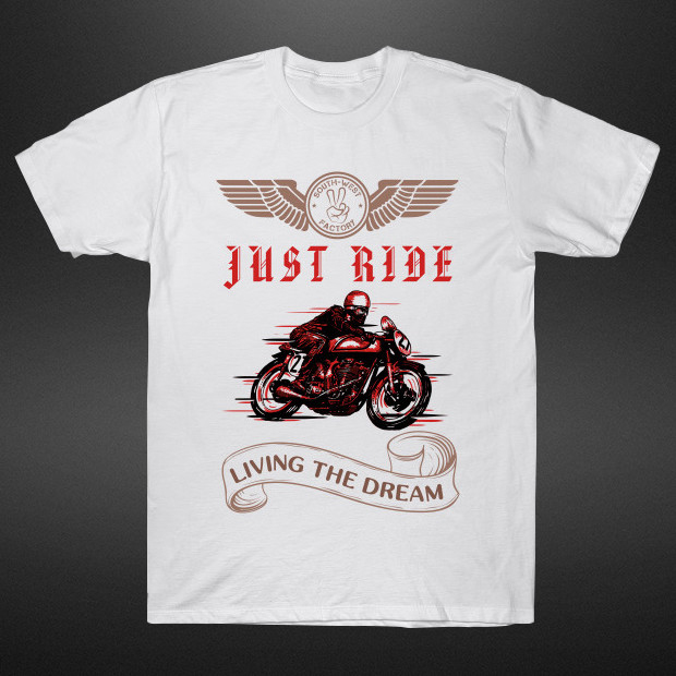 Just Ride Vintage T-Shirt