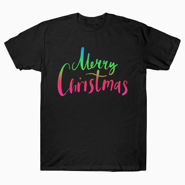 Merry Christmas RGB T-Shirt