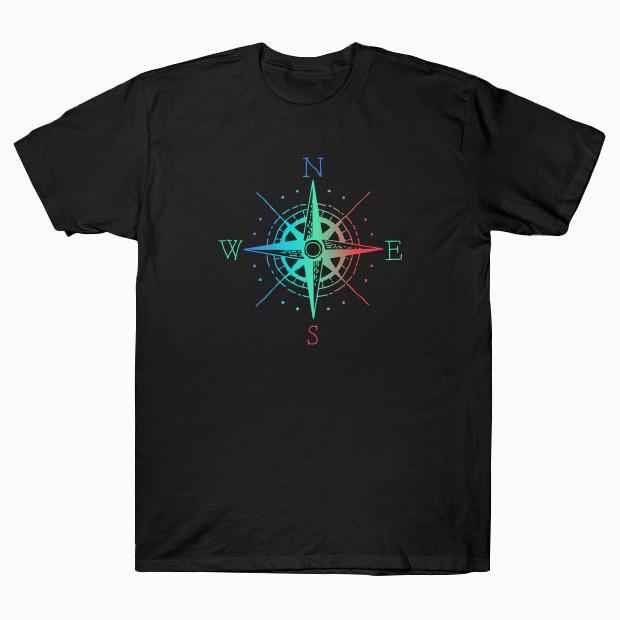 RGB Navigational Compass T-Shirt