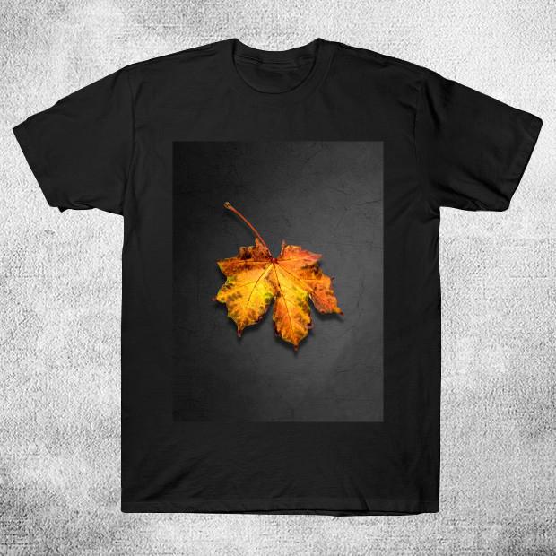 Artsy Leaf T-Shirt
