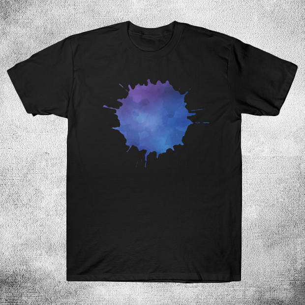 Blue splash T-Shirt