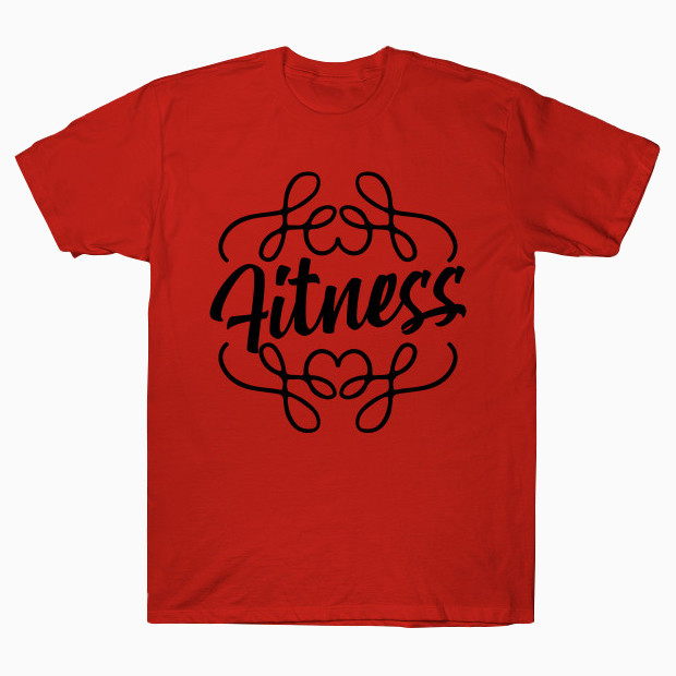 Exotic Fitness Calligraphy T-Shirt