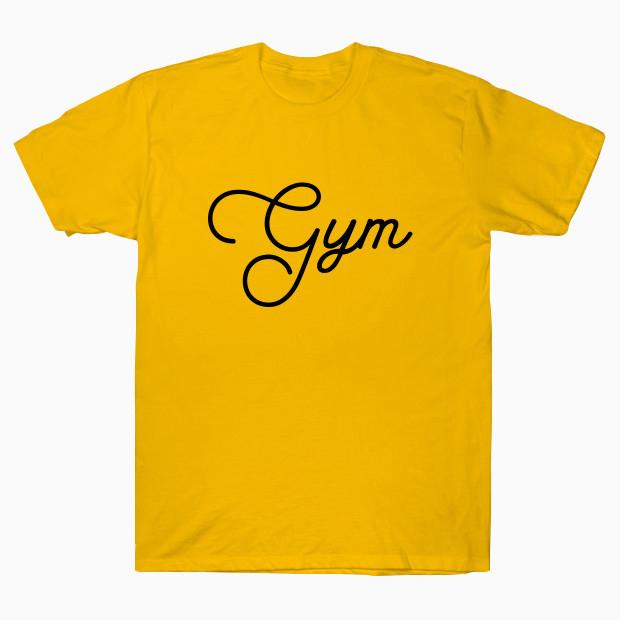 Gym elegant calligraphy T-Shirt