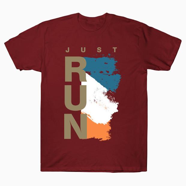 Stylish just run streetwear T-Shirt