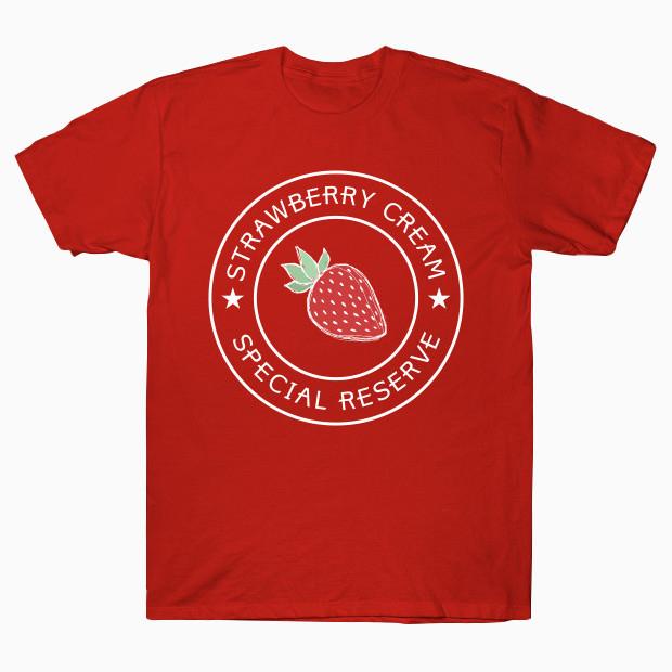 Strawberry cream T-Shirt