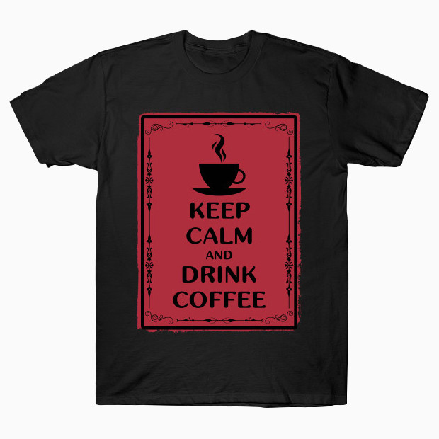 Coffee vintage red T-Shirt