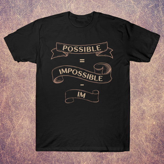Possible equation vintage T-Shirt