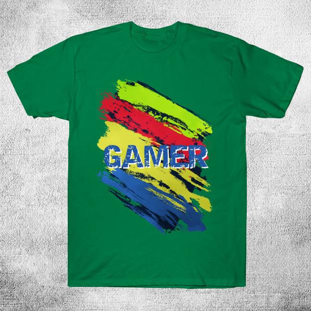 Gamer abstract T-Shirt
