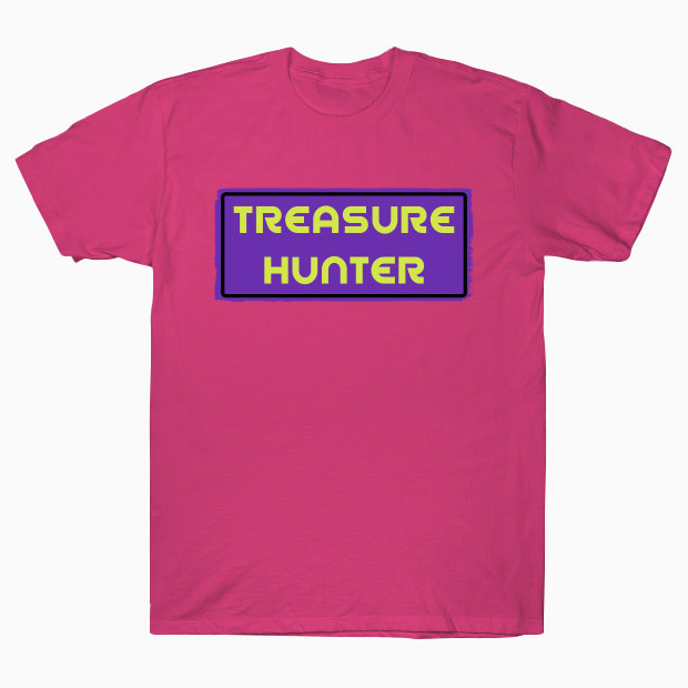 Pink treasure hunter T-Shirt