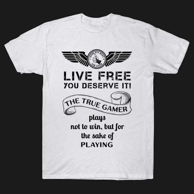 The true gamer T-Shirt