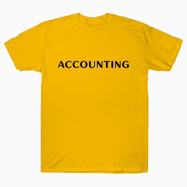 Accounting T-Shirt